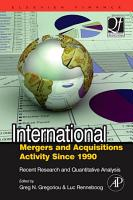 International Mergers and Acquisitions Activity Since 1990 PDF