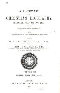 A Dictionary of Christian Biography  Literature  Sects and Doctrines  Hermogenes Myensis PDF