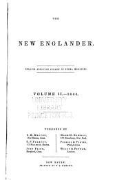 The New Englander: Volume 2
