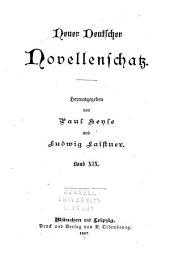 Neuer deutscher novellenschatz: Band 19