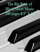 The Big Book of Blank Sheet Music