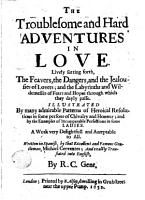 The Troublesome and Hard Adventures in Love PDF