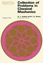 Collection of Problems in Classical Mechanics