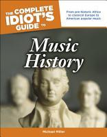 The Complete Idiot s Guide to Music History PDF