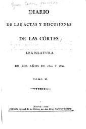 Diario de las actas y discusiones de las Córtes: Legislatura de los años de 1820 y 1821, Volumen 11