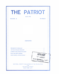 The Patriot Book PDF