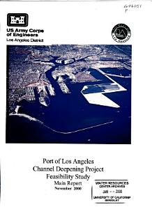 Port of Los Angeles Channel Deepening Project PDF