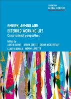 Gender  ageing and extended working life PDF