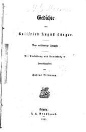 Gedichte von Ludewig Heinrich Christoph Hölty: Nebst Briefen des Dichters