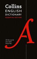 Collins English Dictionary Essential Edition PDF
