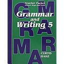 Saxon Grammar   Writing Grade 5 Teacher Packet PDF
