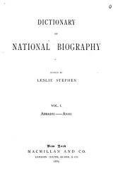 Dictionary of National Biography: Volume 1