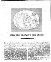Über den Ursprung der Greife
