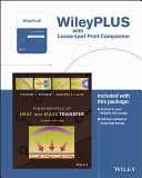 Fundamentals of Heat and Mass Transfer, Eigth Edition Binder Ready Version