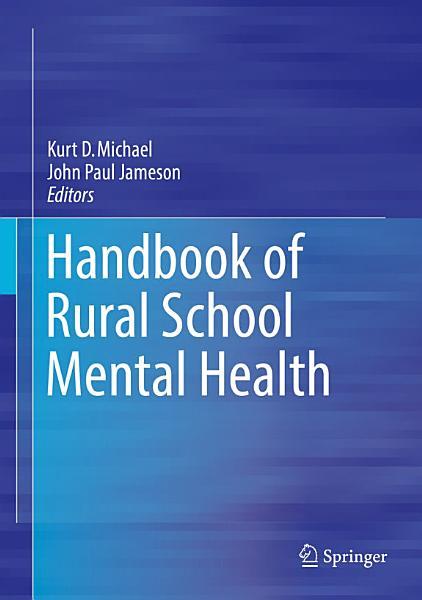 Handbook of Rural School Mental Health