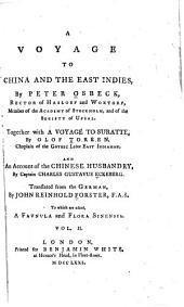A Voyage to China and the East Indies: Volume 2