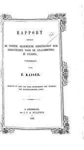 Rapport omtrent de tweede algemeene bijeenkomst der gemagtigden voor de Graadmeting i Europa [at Berlin, Oct. 1867].