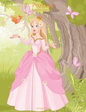 Princesa libro para colorear 1 & 2
