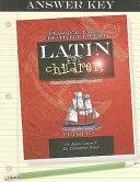 Latin for Children  Primer C Answer Key Book