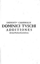 Practicae Conclusiones Iuris In omni Foro frequentiores: Volume 9