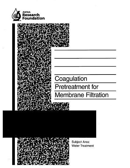 Coagulation Pretreatment for Membrane Filtration PDF