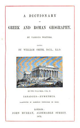 Dictionary of Greek and Roman Geography PDF