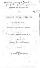 Historical notes and documents