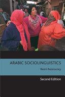 Arabic Sociolinguistics PDF