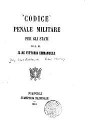 Codice penale militare