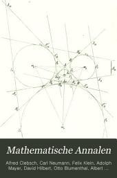 Mathematische Annalen: Volume 7