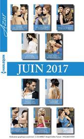 10 romans Azur + 1 gratuit (no3835 à 3844 - juin 2017)