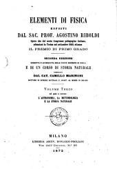 Elementi di fisica esposti da Agostino Riboldi: Nel quale si trattano: l'astronomia, la meteorologia e la storia naturale/ Agostino Riboldi, Volume 3