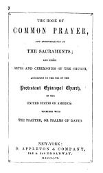 The Book Of Common Prayer And Administration Of The Sacraments Book PDF