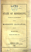 Laws of the State of Mississippi PDF