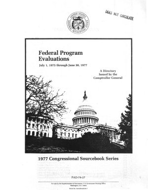 Federal Evaluations