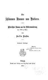 Kleine Romane aus der Völkerwanderung: Band 4