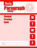Daily Paragraph Editing  Grade 7 Student Book 5 Pack Book
