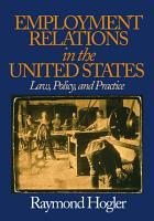 Employment Relations in the United States PDF