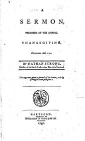 A sermon [on Ps. cvii. 8] preached at the annual thanksgiving, etc