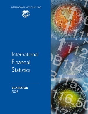 International Financial Statistics Yearbook  2008 PDF