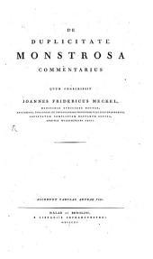 De Duplicitate Monstrosa Commentarius