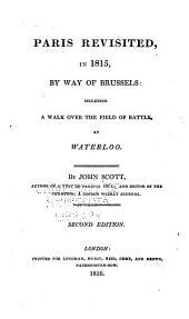 Paris Revisited, in 1815