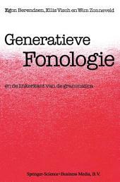 Generatieve Fonologie: En de Linkerkant van de Grammatica