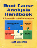 Root Cause Analysis Handbook