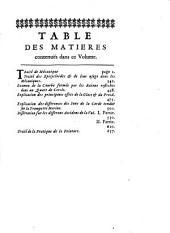 Memoires de l'Académie Royale des Sciences depuis 1666 jusqu'à 1699: Volume9
