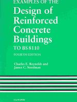 Examples of the Design of Reinforced Concrete Buildings to BS8110  Fourth Edition PDF