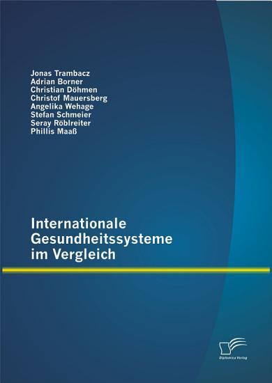 Internationale Gesundheitssysteme im Vergleich PDF