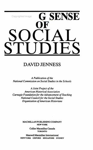 Making Sense of Social Studies PDF