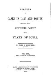 Reports of Cases in Law and Equity, Determined in the Supreme Court of the State of Iowa: Volume 54