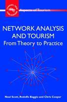 Network Analysis and Tourism PDF